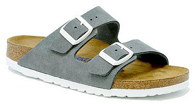 Birkenstock Arizona BS Suede gunmetal grey