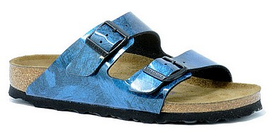 Birkenstock Arizona iride strong blau