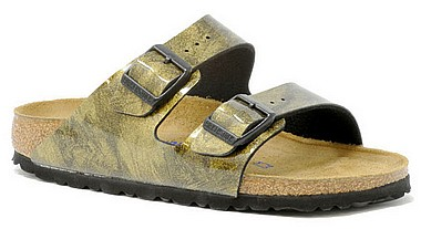 Birkenstock Arizona iride strong gold