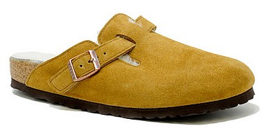 Birkenstock Boston Fur mink
