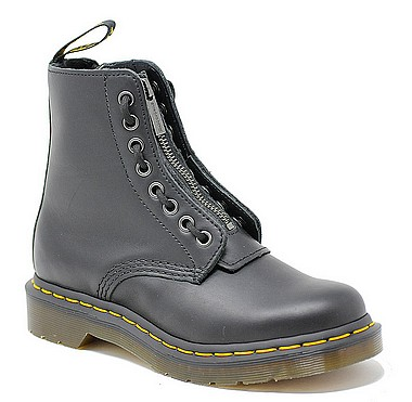 Dr.Martens Pascal Front Zip black nappa