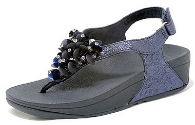 FitFlop™ Boogaloo BackStrap Sandal™ midnight blau