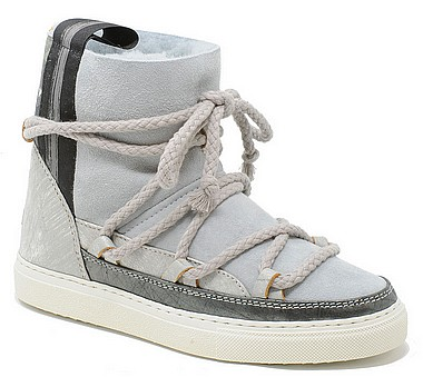INUIKII 70202 Sneakers Classic patchwork silver