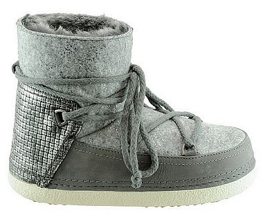 INUIKII INUIKII Boot dusty felter grigio scuro
