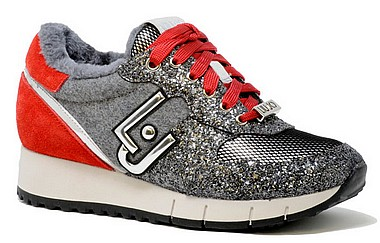 Liu Jo Gigi 02 Running grey red