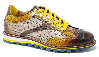 Lorenzi 10620 fresh yellow leather