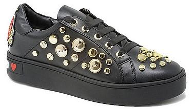 Love Moschino JA15103G Sneaker Black - Gold