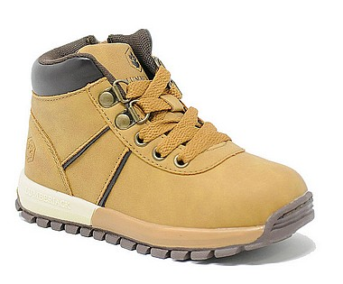 Lumberjack Alto Sneaker Bambino yellow brown