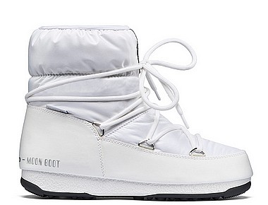 Moon Boot® Moonboot WE Low Nylon WP weiss silber