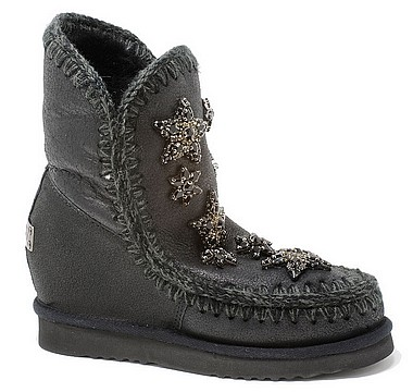 MOU Eskimo Wedge Cristal Star cracked schwarz grau