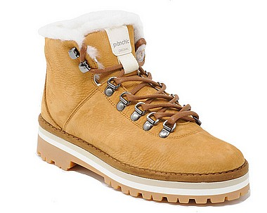 Panchic P09 Hiking Boot Shearling caramel