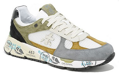 Premiata Mase grey leather var 3887