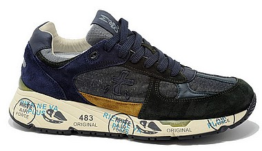 Premiata Mase grey forest blue 4152