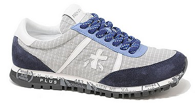 Premiata Sean blue grey var 4644