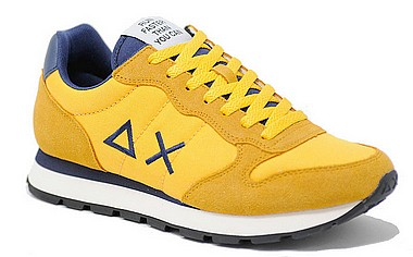 Sun 68 Tom Solid yellow navy blue