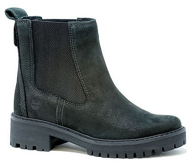timberland black courmayeur valley mid boots