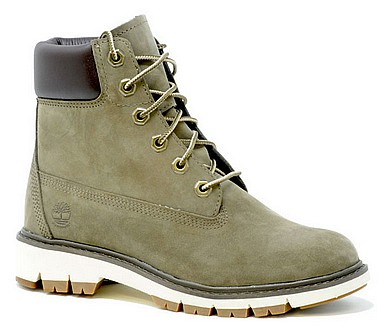 Timberland Lucia Way 6in canteen grau