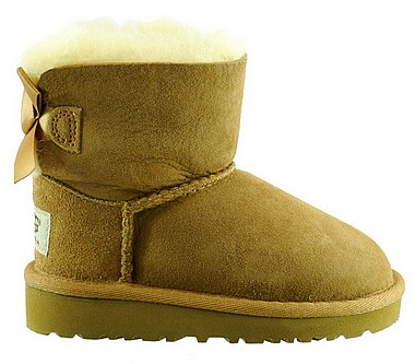 UGG® Mini Bailey Bow KidTengu chestnut kastanie