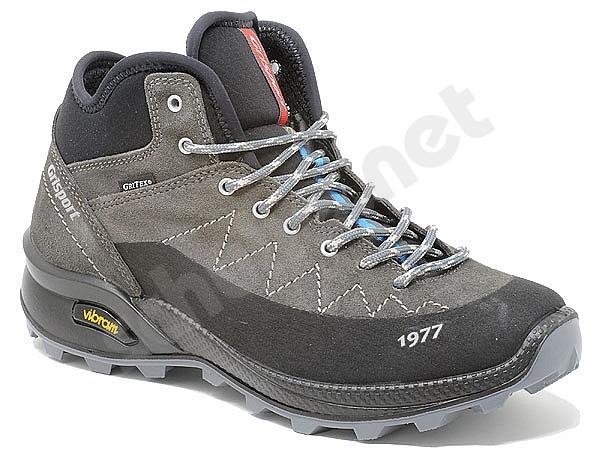 store retrò scarpe casual Grisport 13143 Gritex Vesuvio Grigio 39